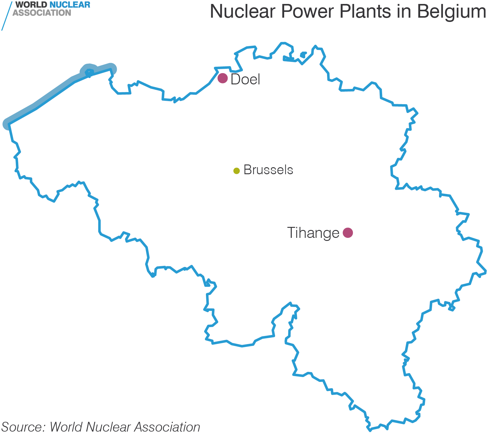 Nuclear Power Plants in Belgium