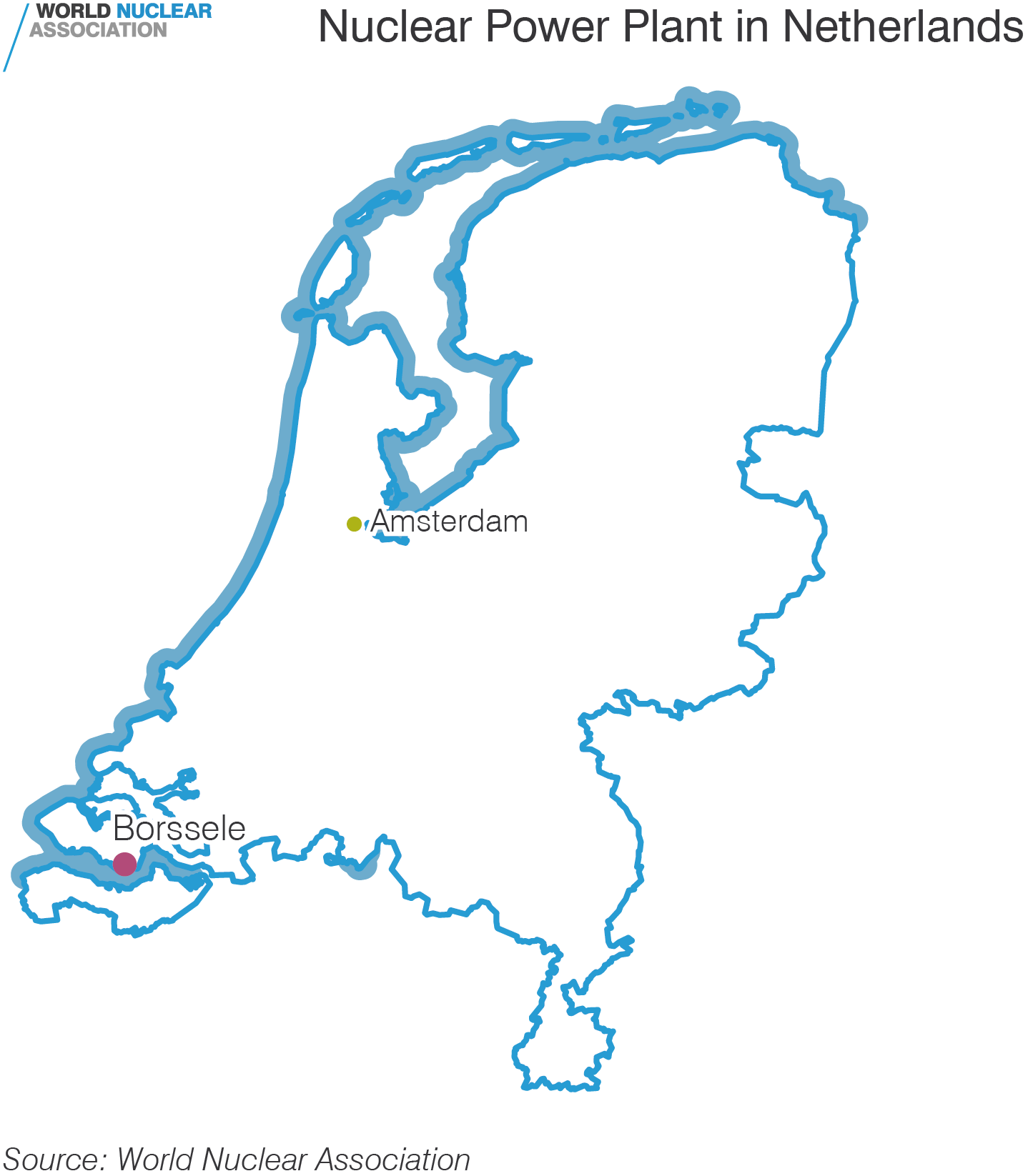 Nuclear Power Plant in Netherlands