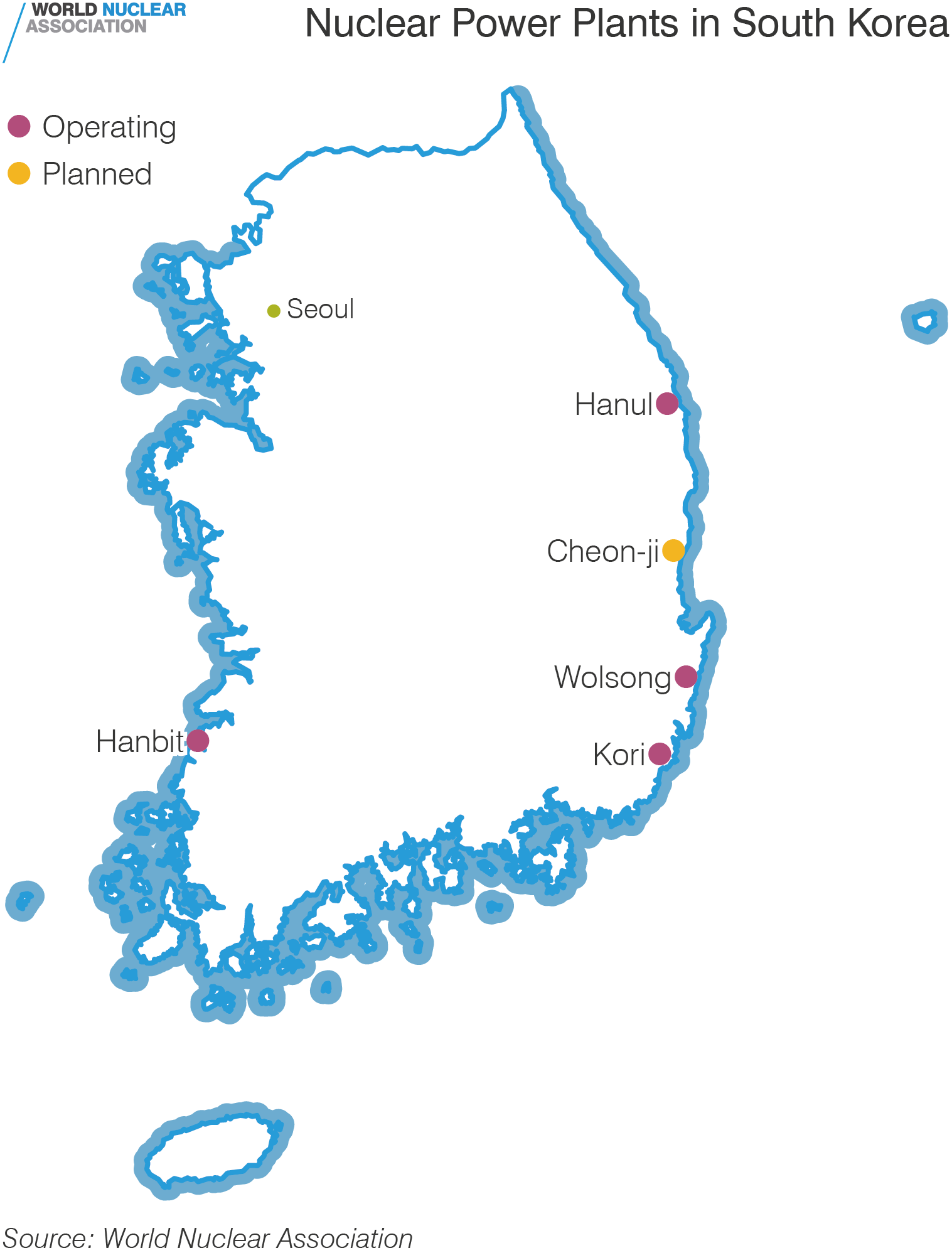Nuclear Power Plants in South Korea
